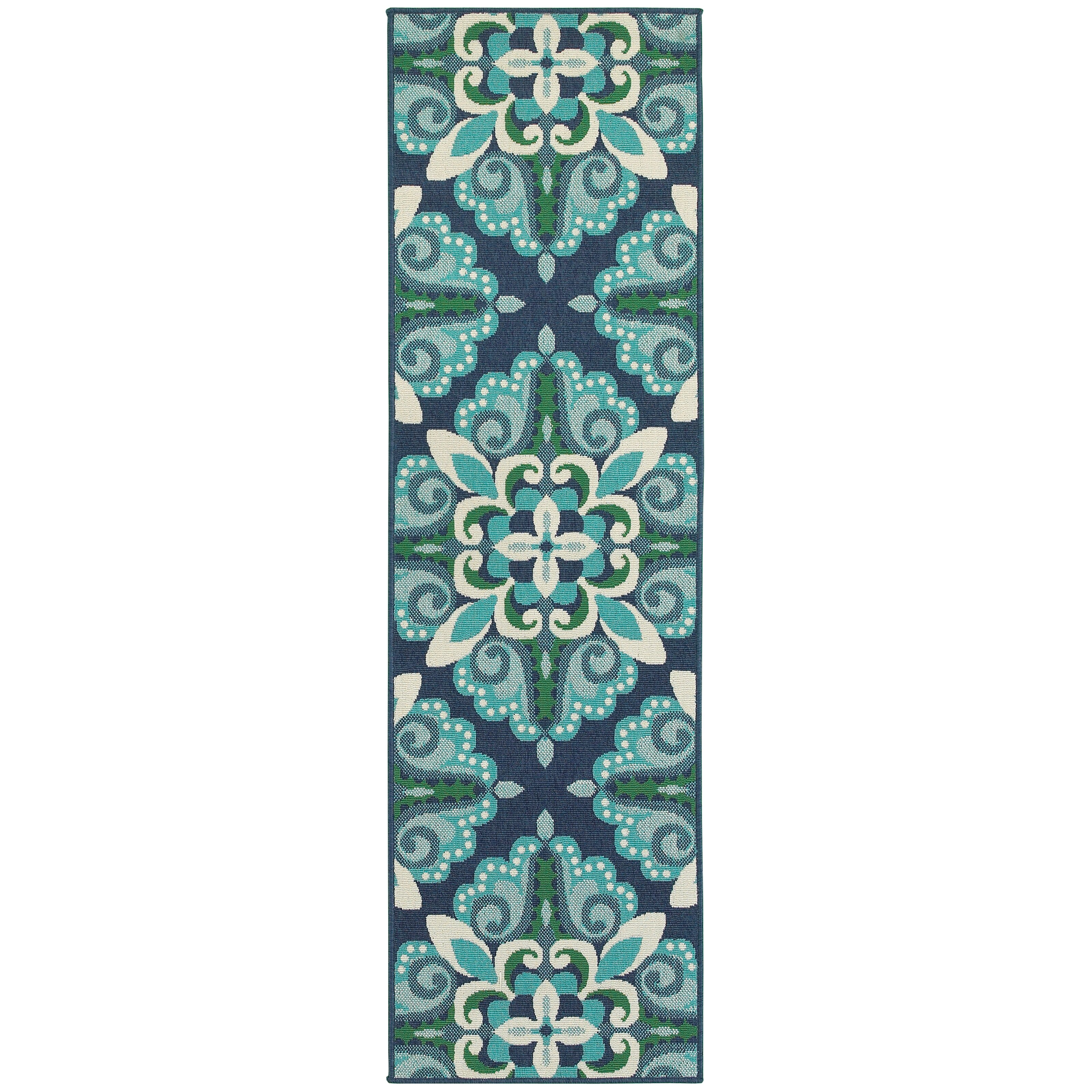 Green And Blue Area Rug Roselawnlutheran