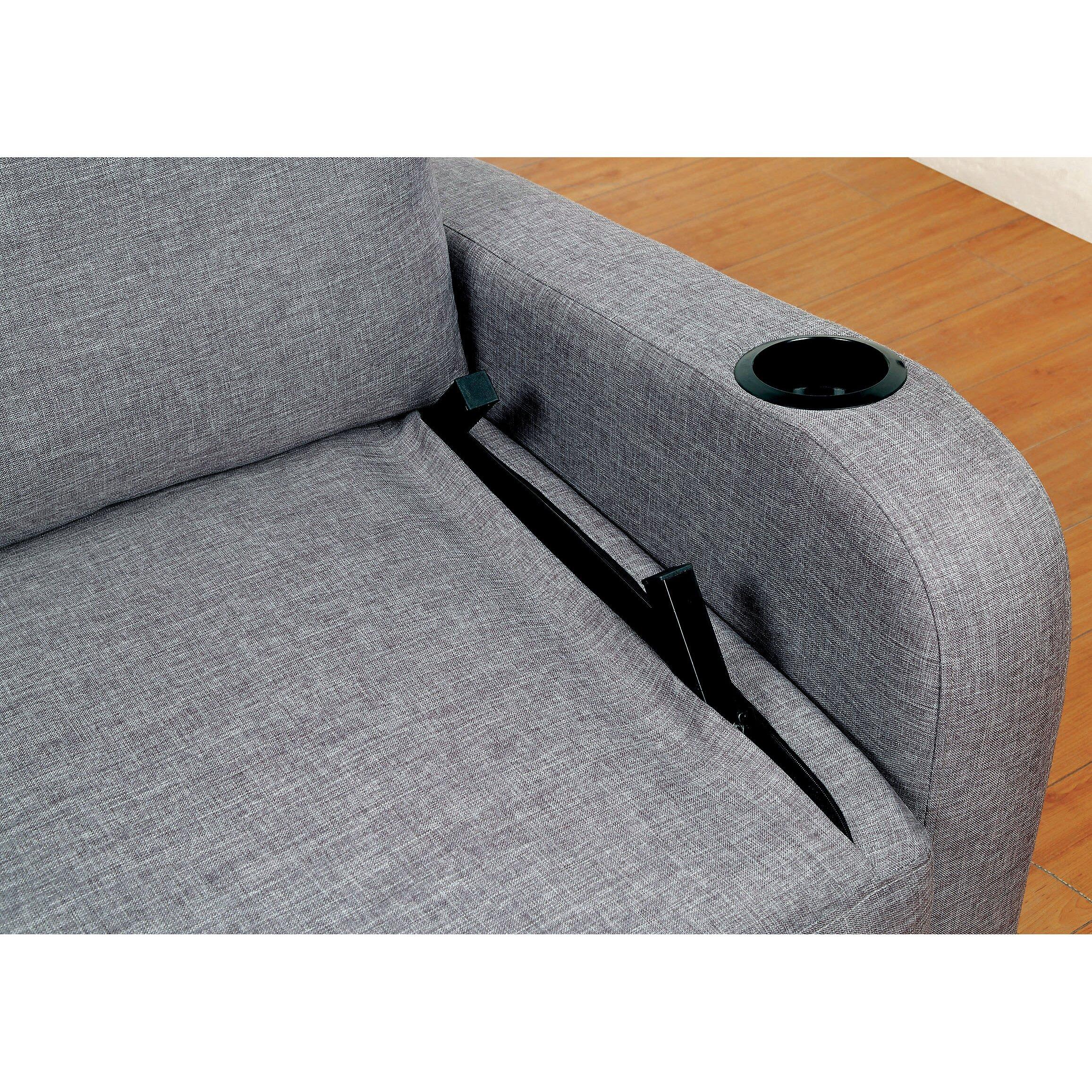Latitude Run Molly Futon Convertible Sofa