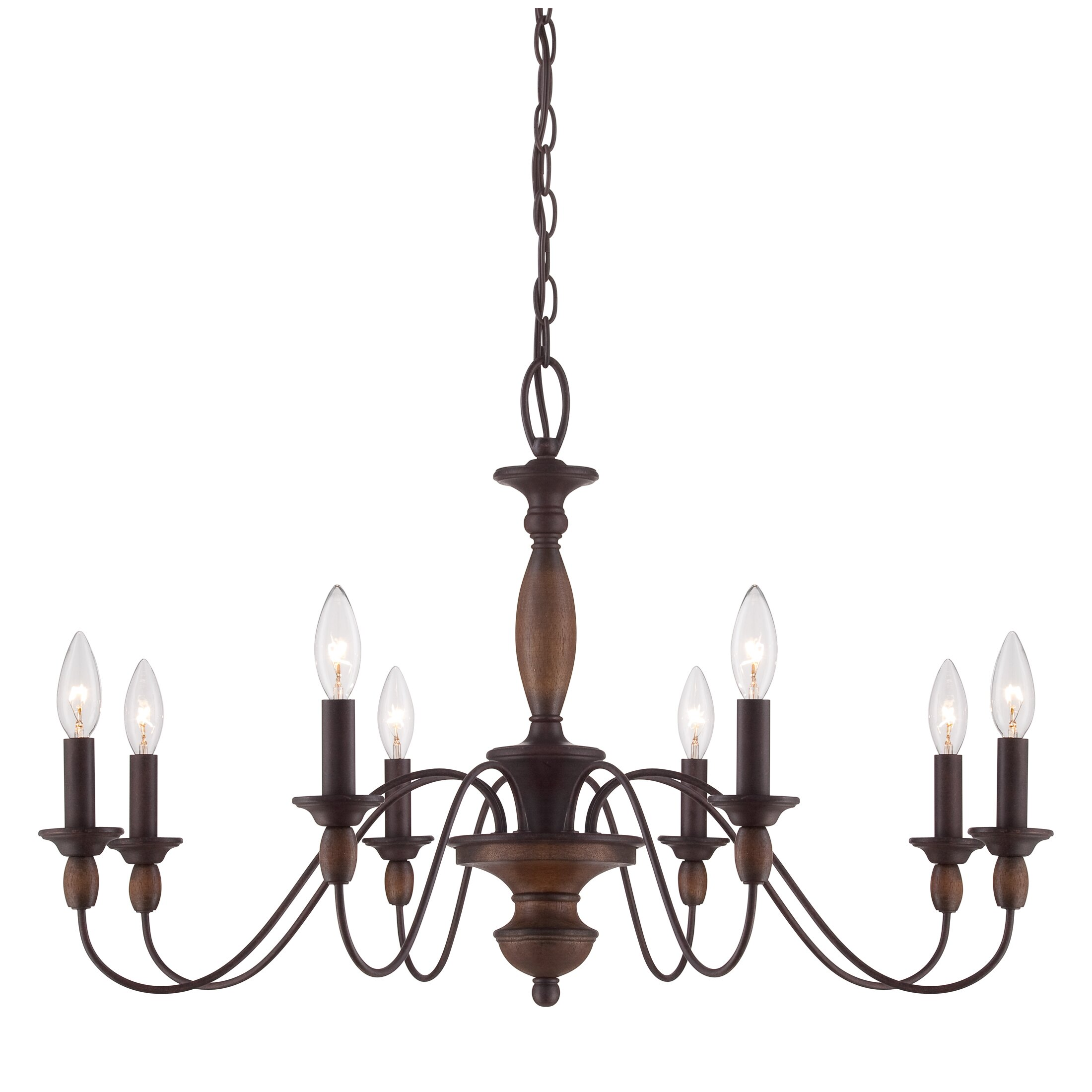 Quoizel Holbrook 8Light CandleStyle Chandelier Reviews – Quoizel Chandelier