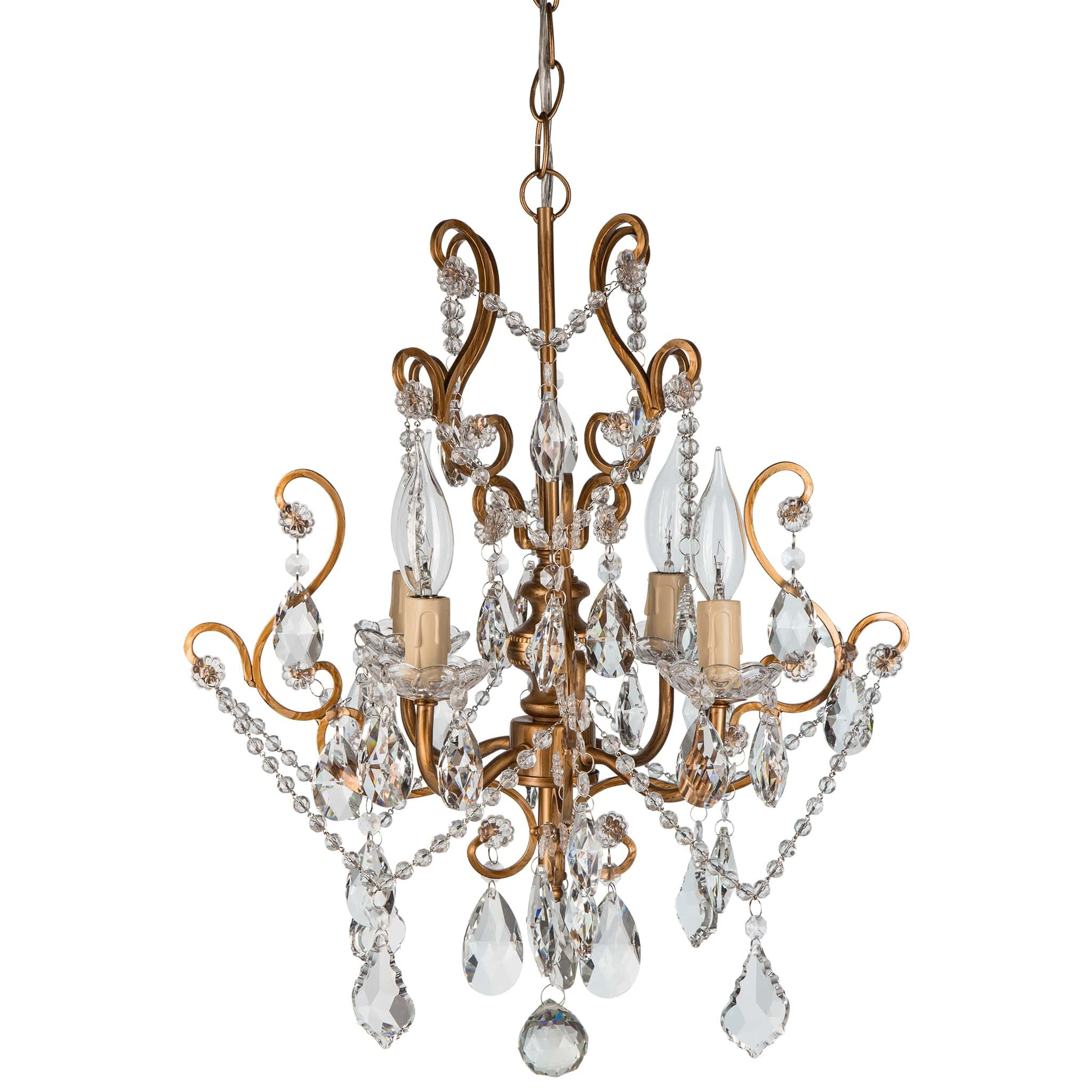 Small Crystal Chandeliers For Bedrooms Mini Or Small Chandeliers Youll Love