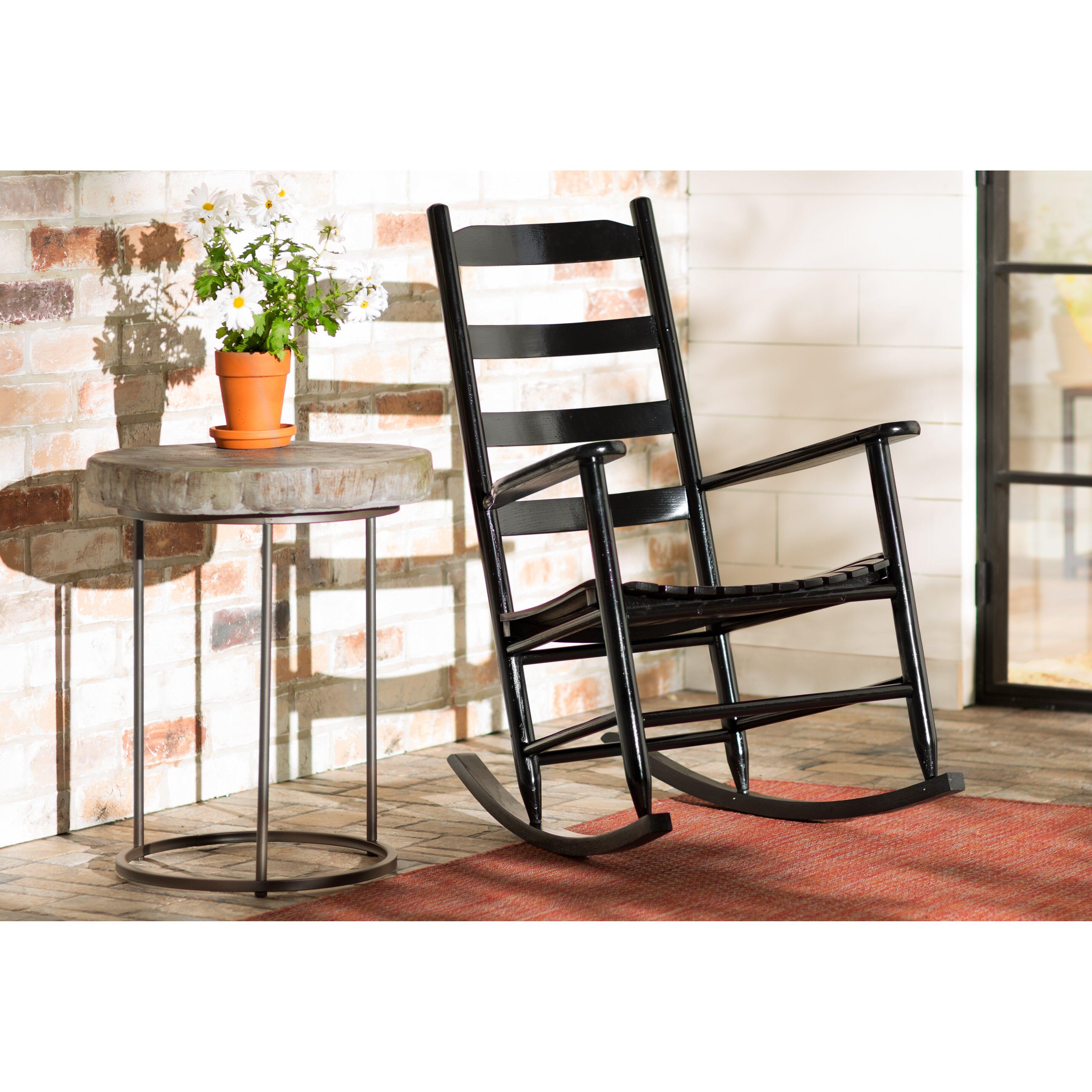Laurel Foundry Modern Farmhouse™ Ona Ladder Back Rocking Chair