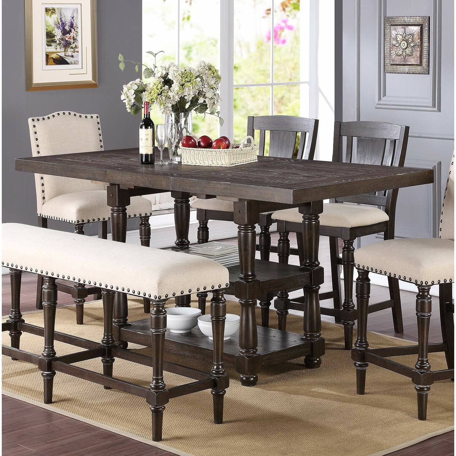 Height Dining Room Sets
