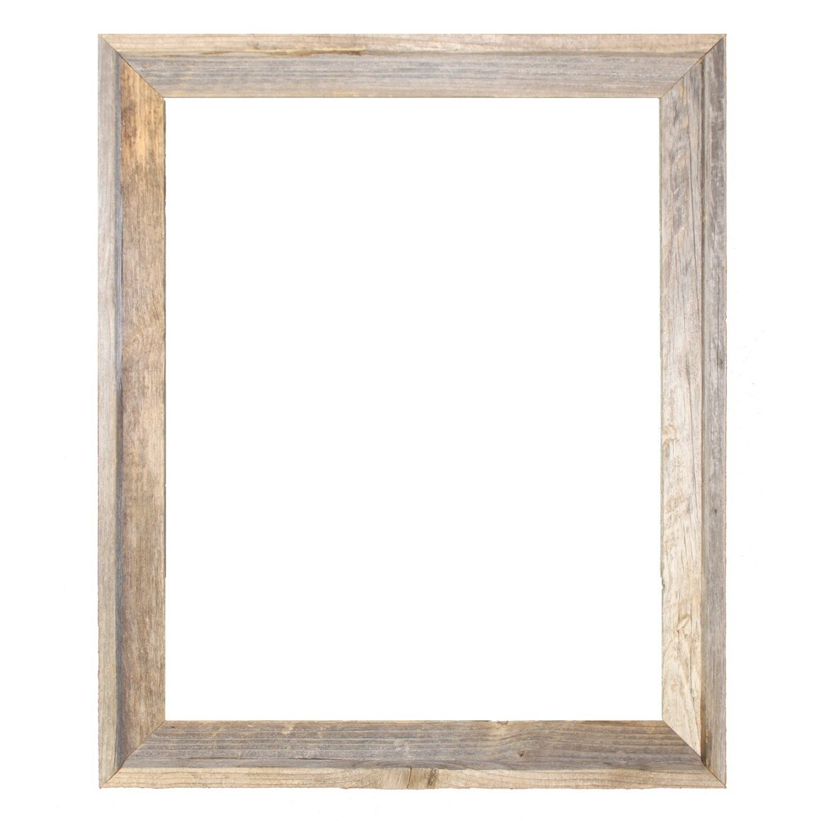laurel foundry modern farmhouse rustic reclaimed barn wood open picture frame