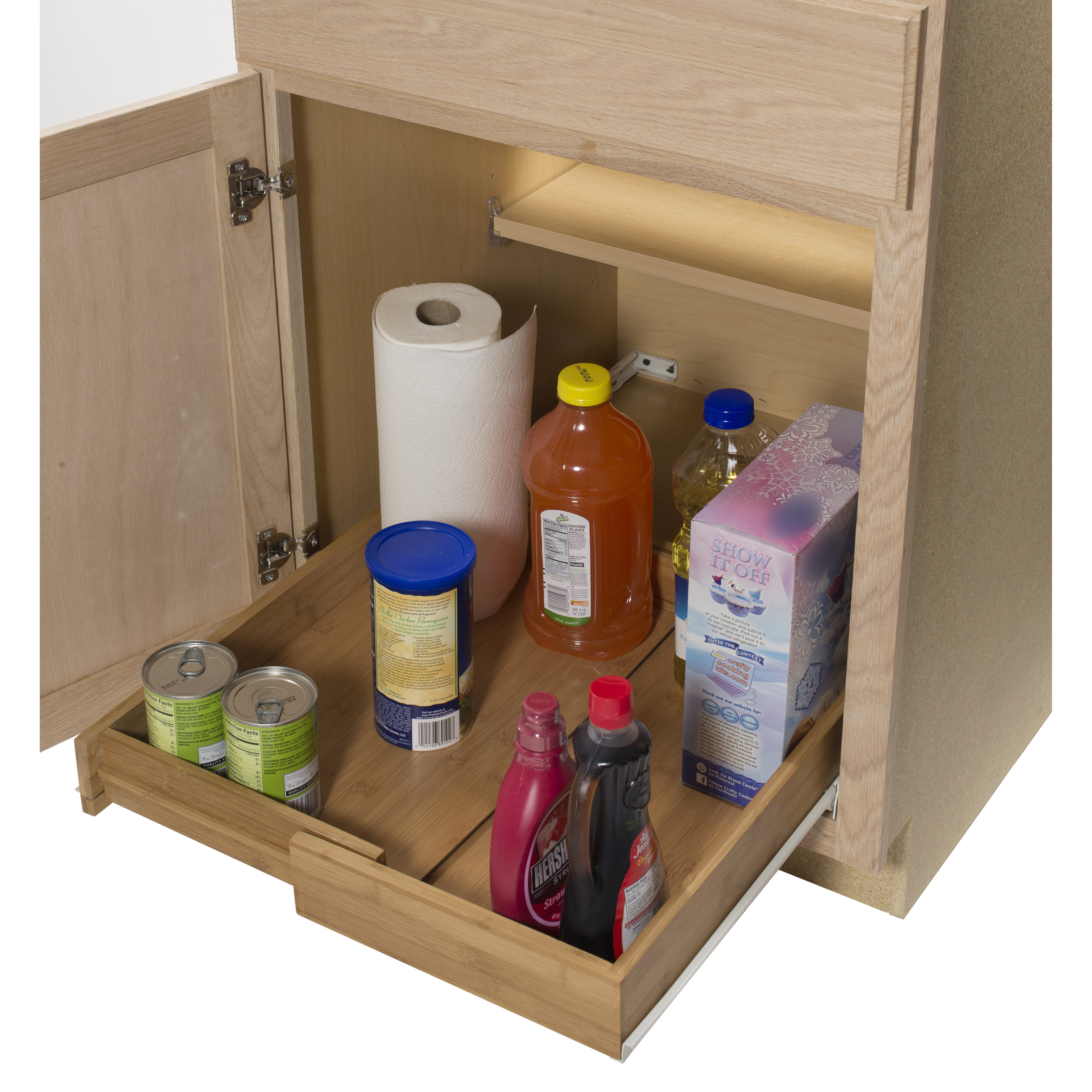 Kitchen Cabinet Slide Out Rebrilliant Bamboo Expandable Kitchen Cabinet Pull Out Drawer