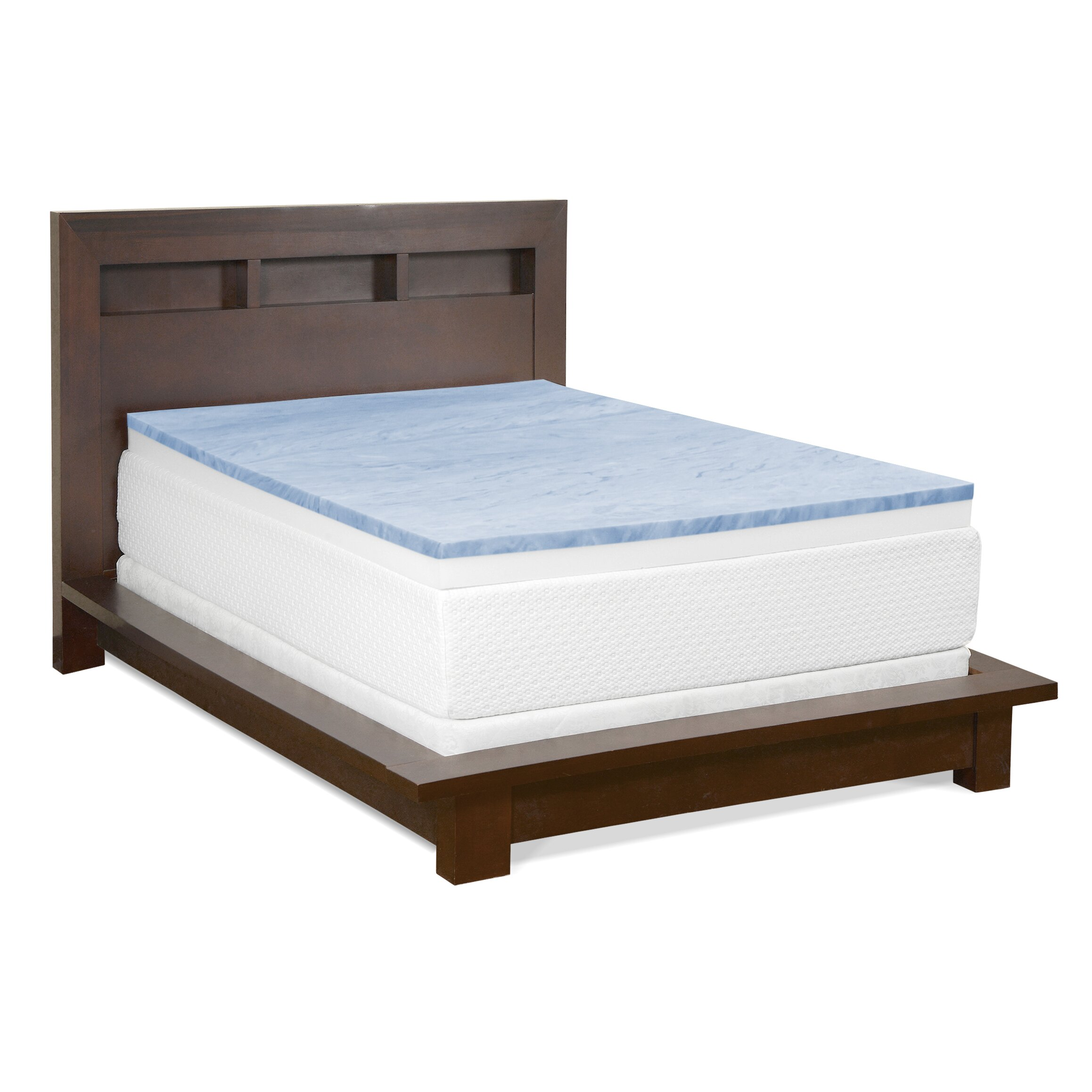Anew edit 4 gel memory foam mattress topper reviews 4 memory foam mattress topper