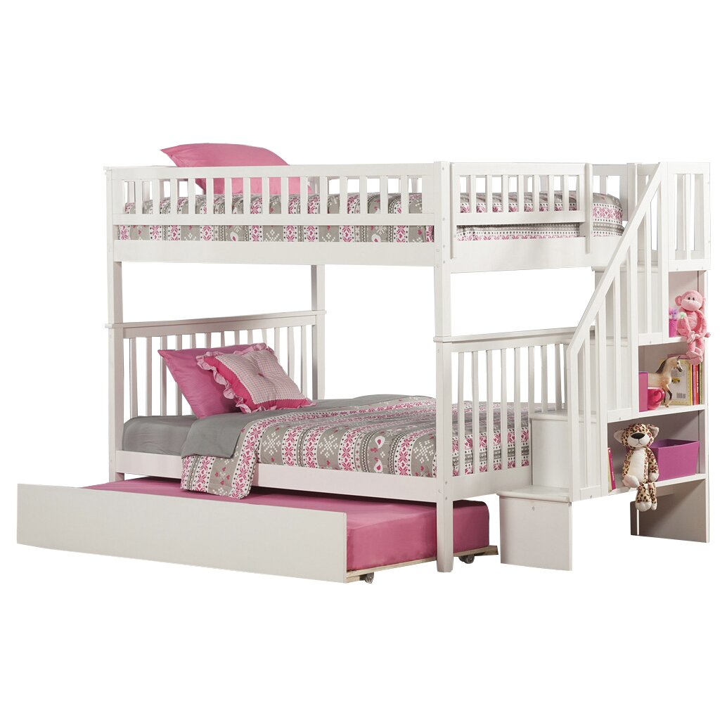 Viv Rae Shyann Full Over Full Bunk Bed With Trundle