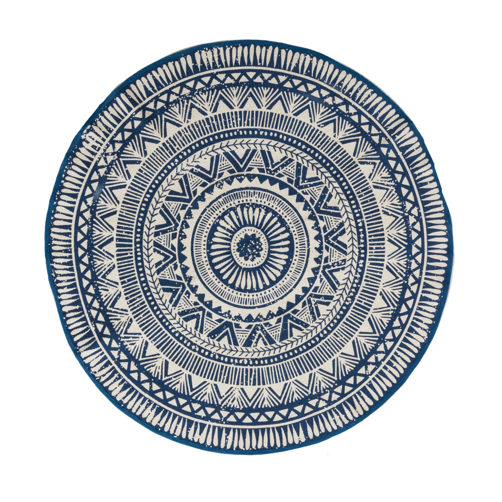 miaVILLA Teppich Sigma in Blau  Weiß  Wayfairde