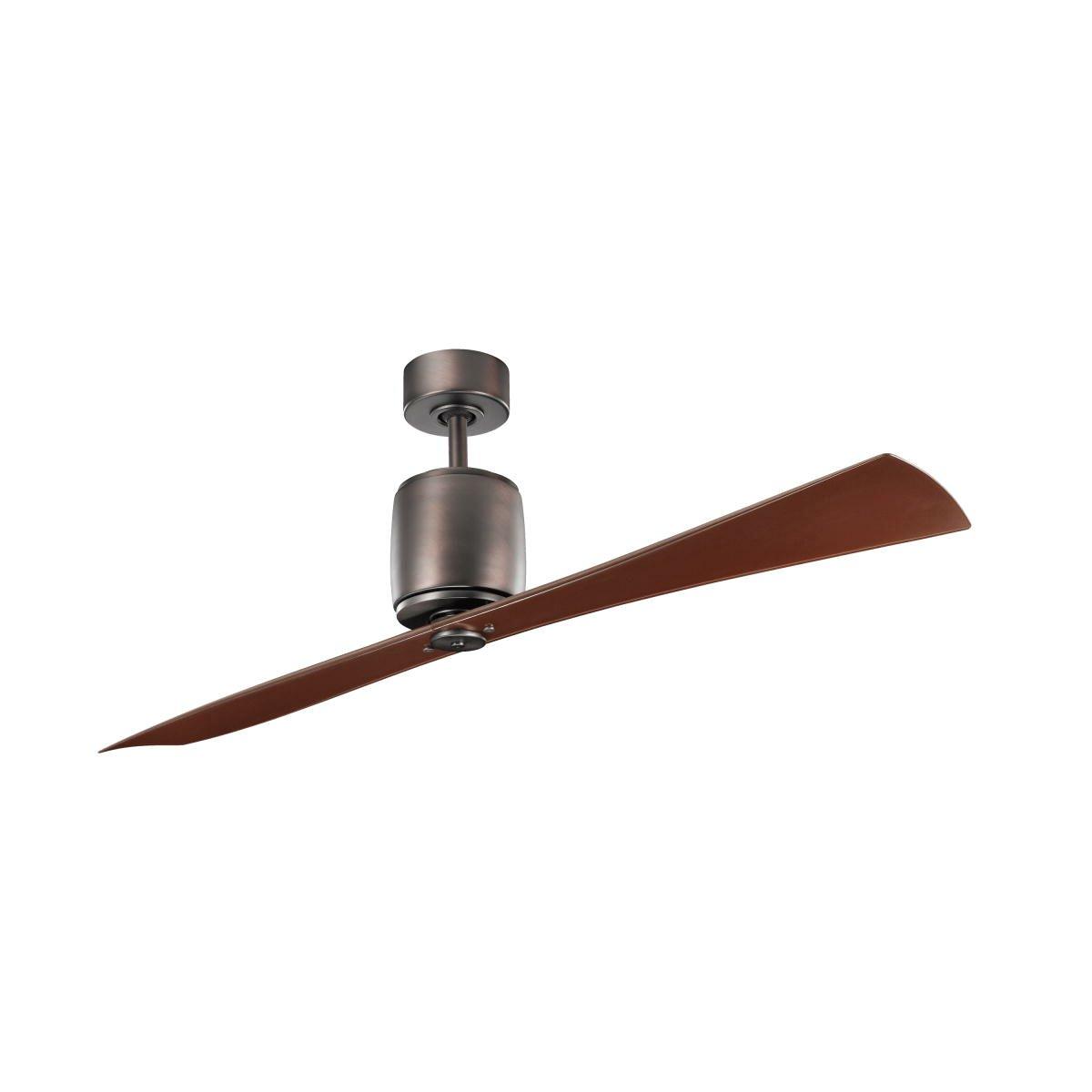 """Ceiling Fan 60: Kichler 60"""" Ferron 2 Blade Ceiling Fan,Lighting"""