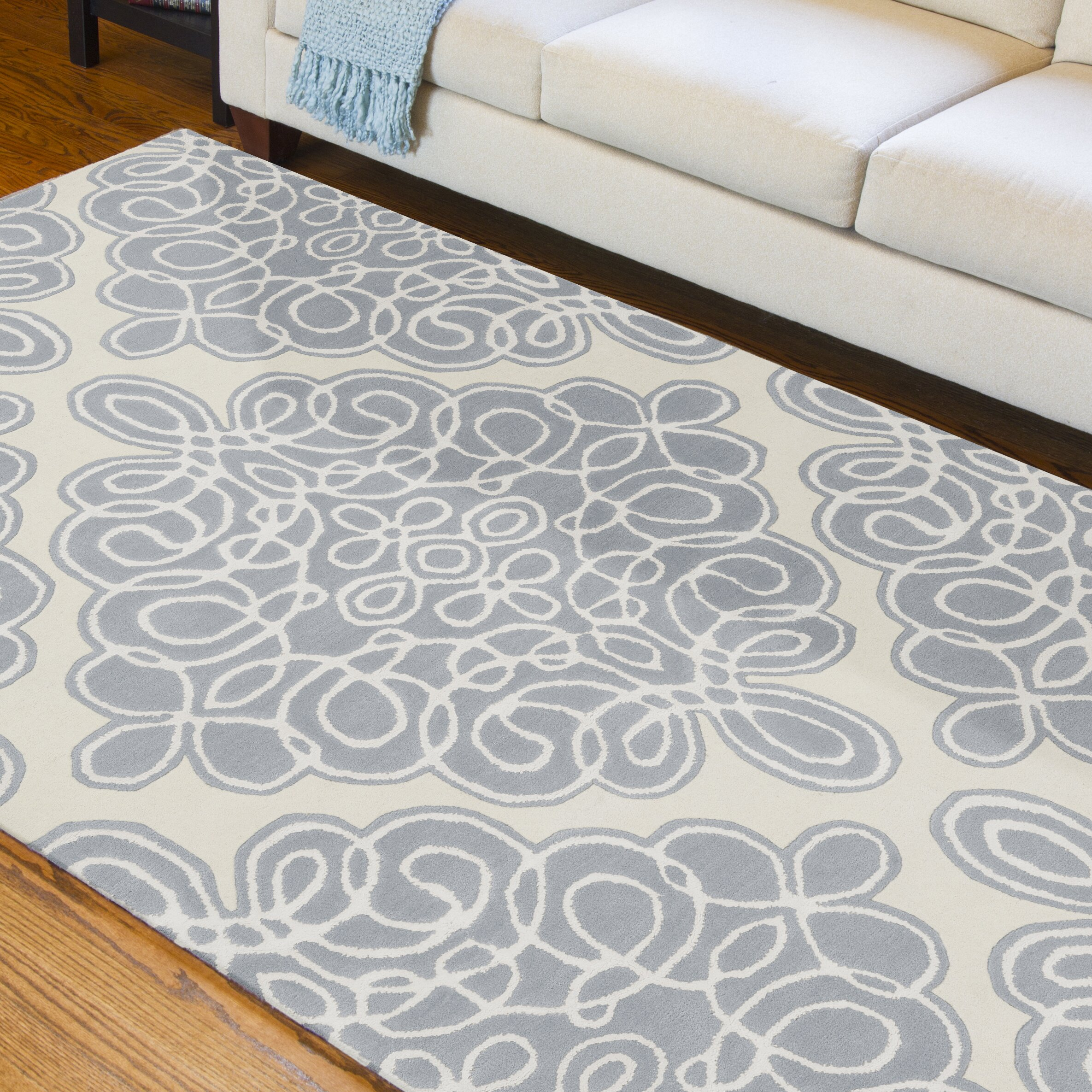 Candice Olson Rugs Modern Clics Cream Area Rug