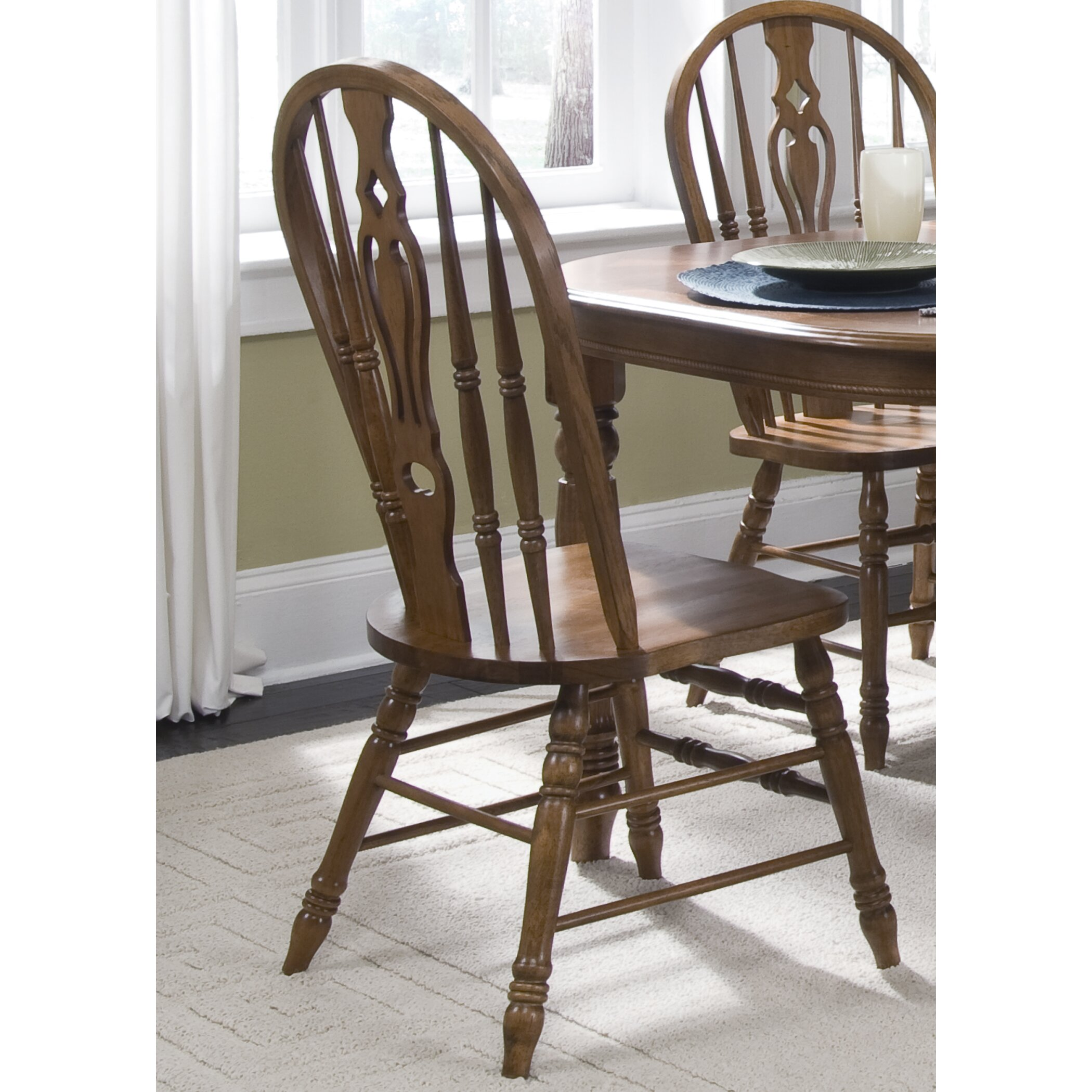 Liberty Furniture Old World Windsor Side Chair Reviews – Liberty Side Chair