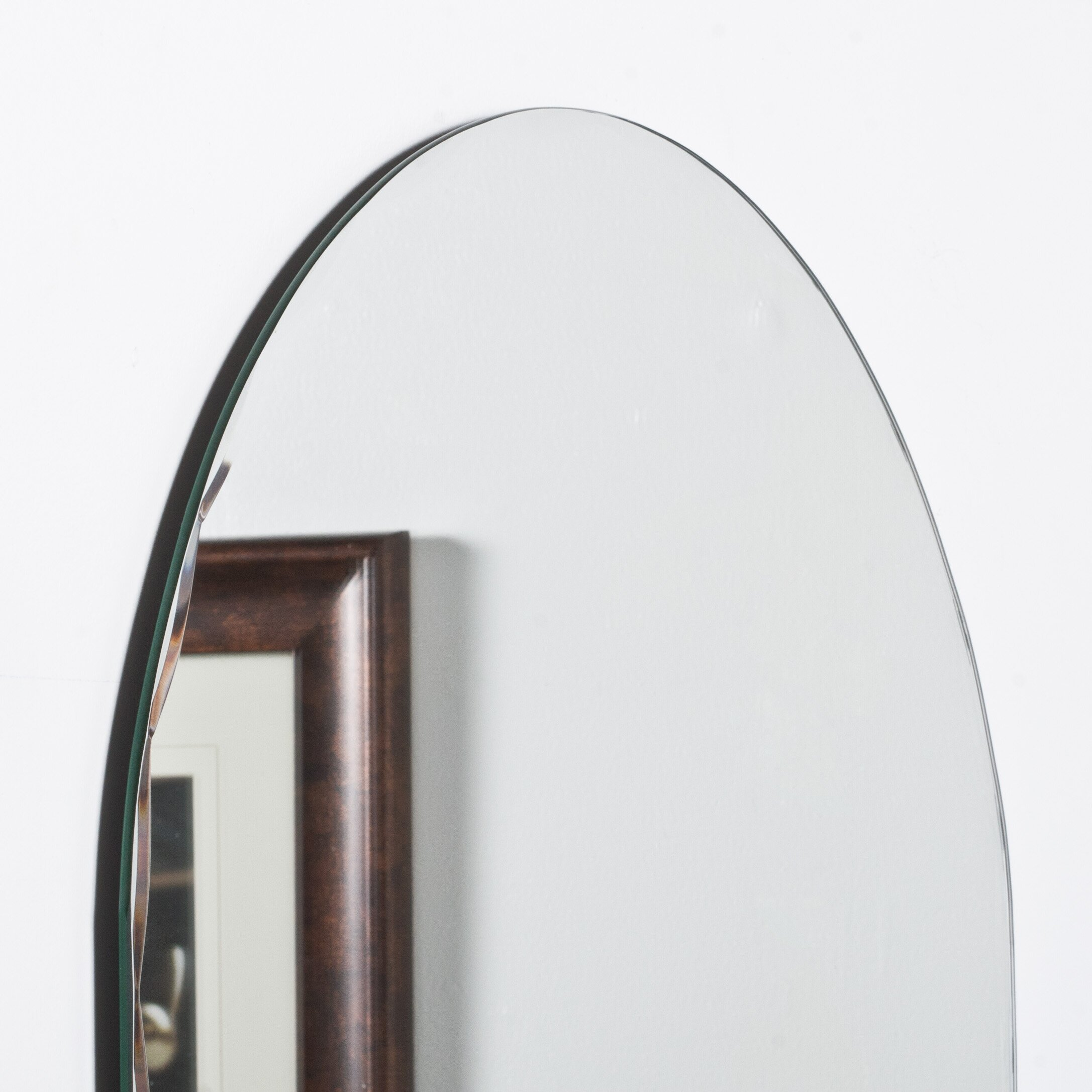 Rita modern wall mirror reviews allmodern for All modern accessories
