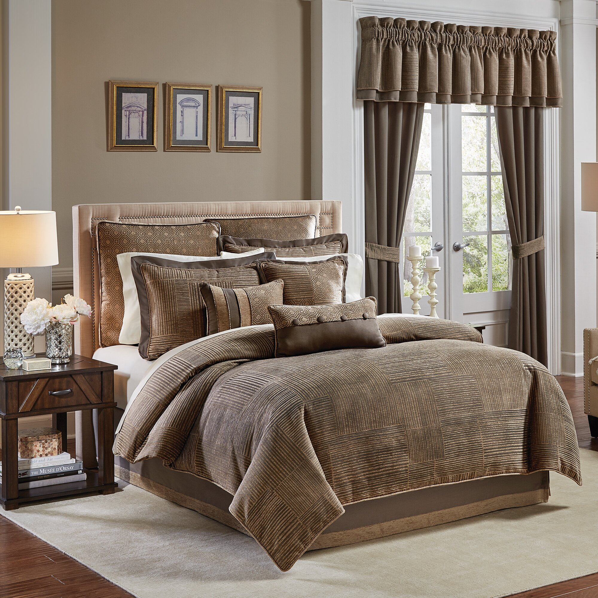 Croscill Benson 4 Piece Comforter Set Amp Reviews Wayfair