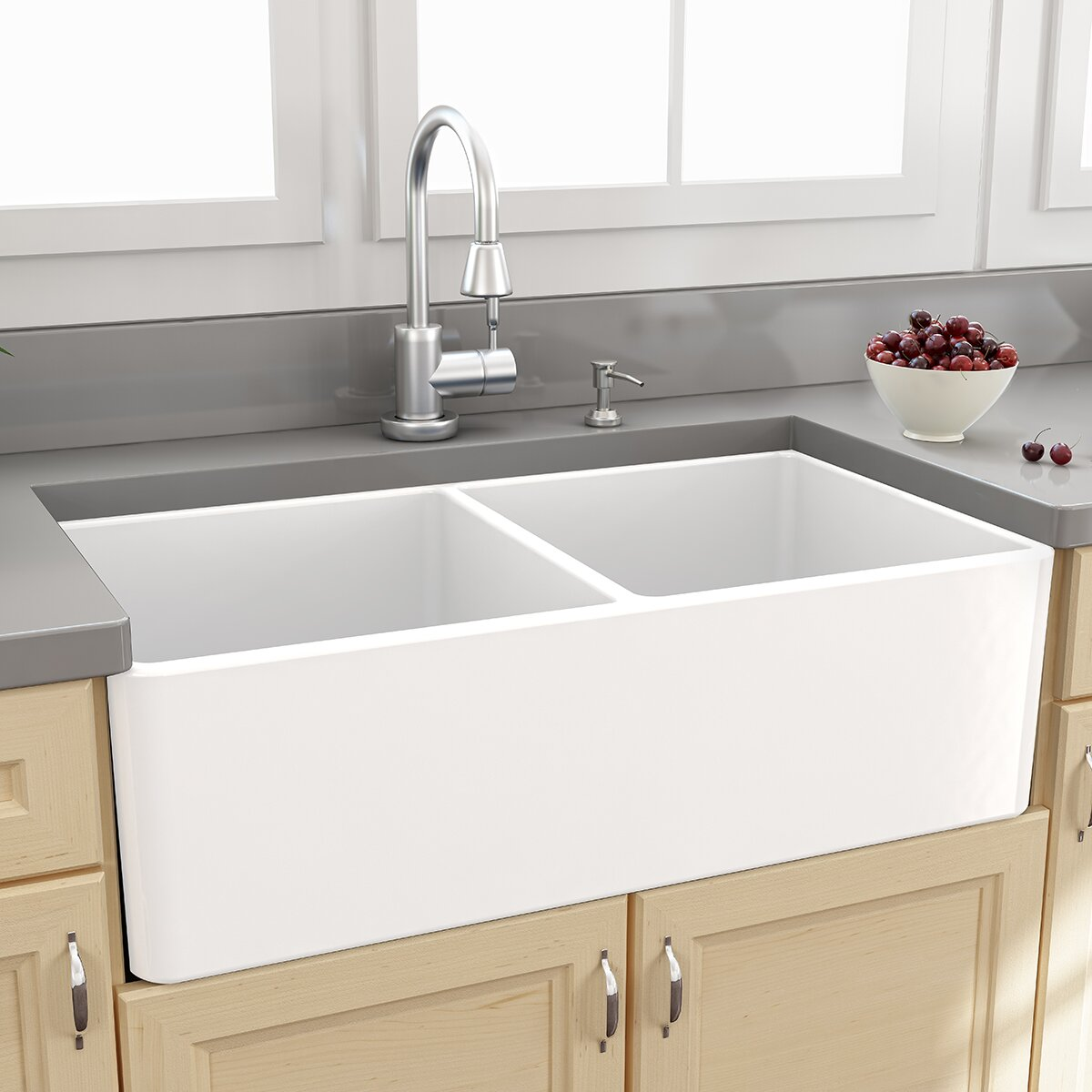 Curved Ceramic Kitchen Sink - Kitchen Appliances Tips And Review