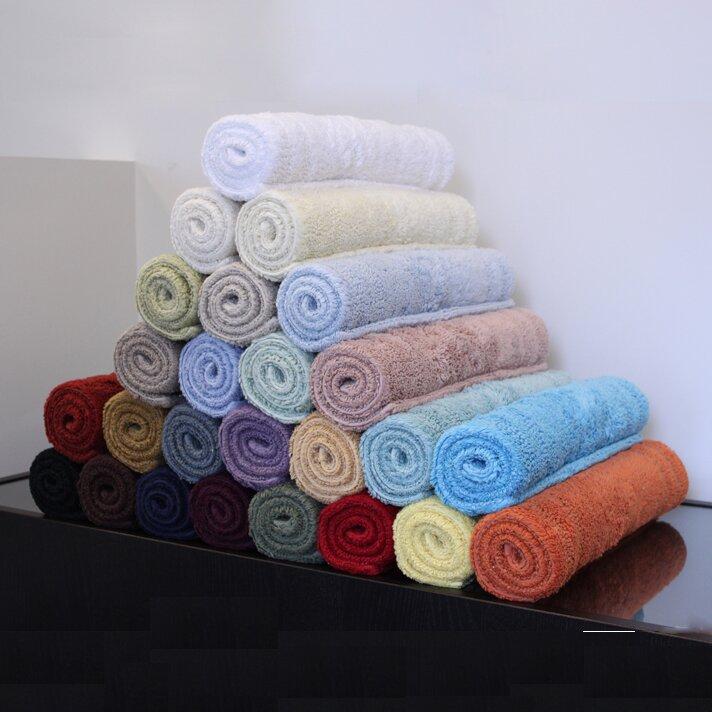 Home Source International Reversible Cotton Bath Rug