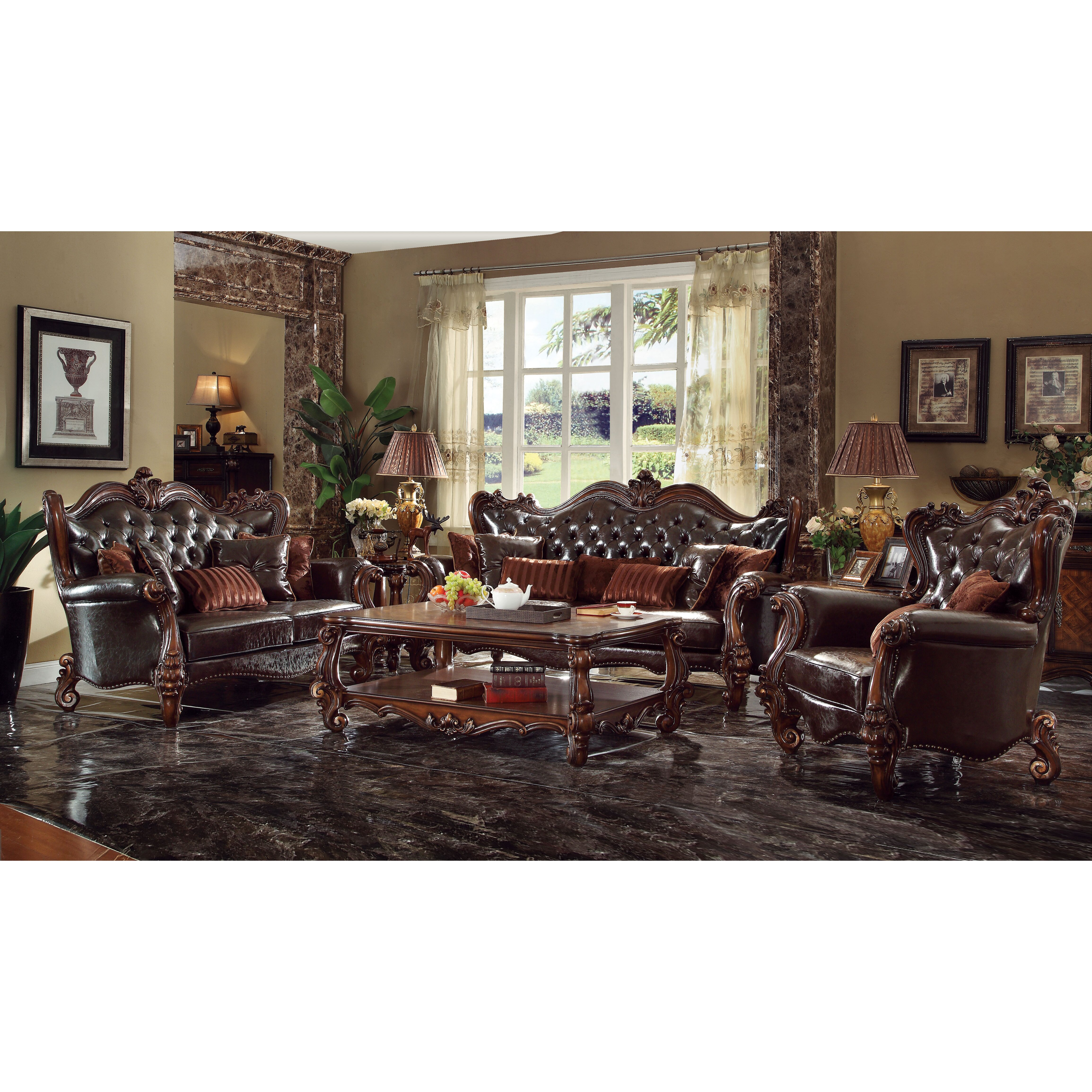 Living Room Collection Furniture Acme Furniture Versailles Living Room Collection Wayfair