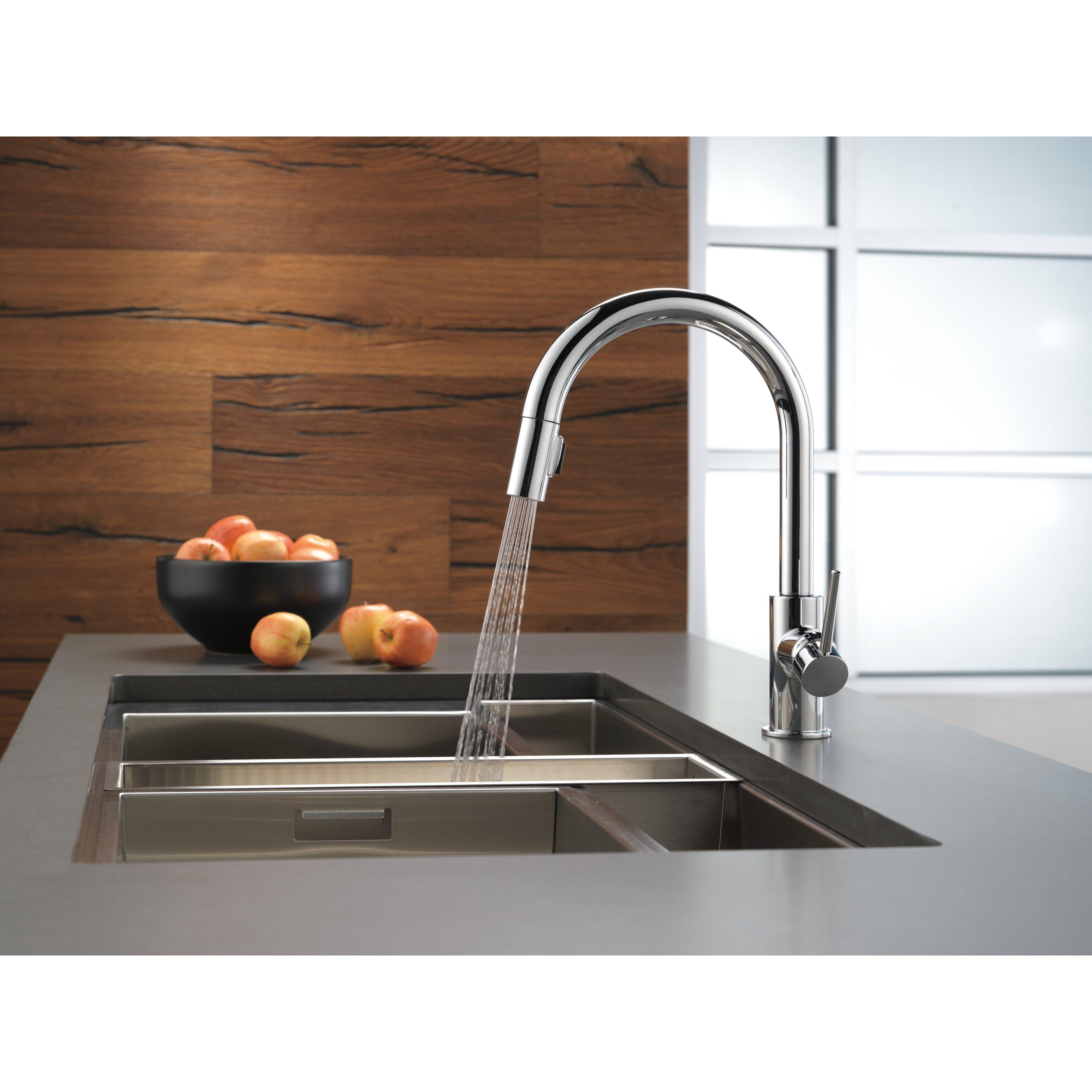 delta leland kitchen faucet kitchen brilliant delta kitchen kitchenbest modern delta kitchen faucets faucet 980t sd dst pilar one handle pull