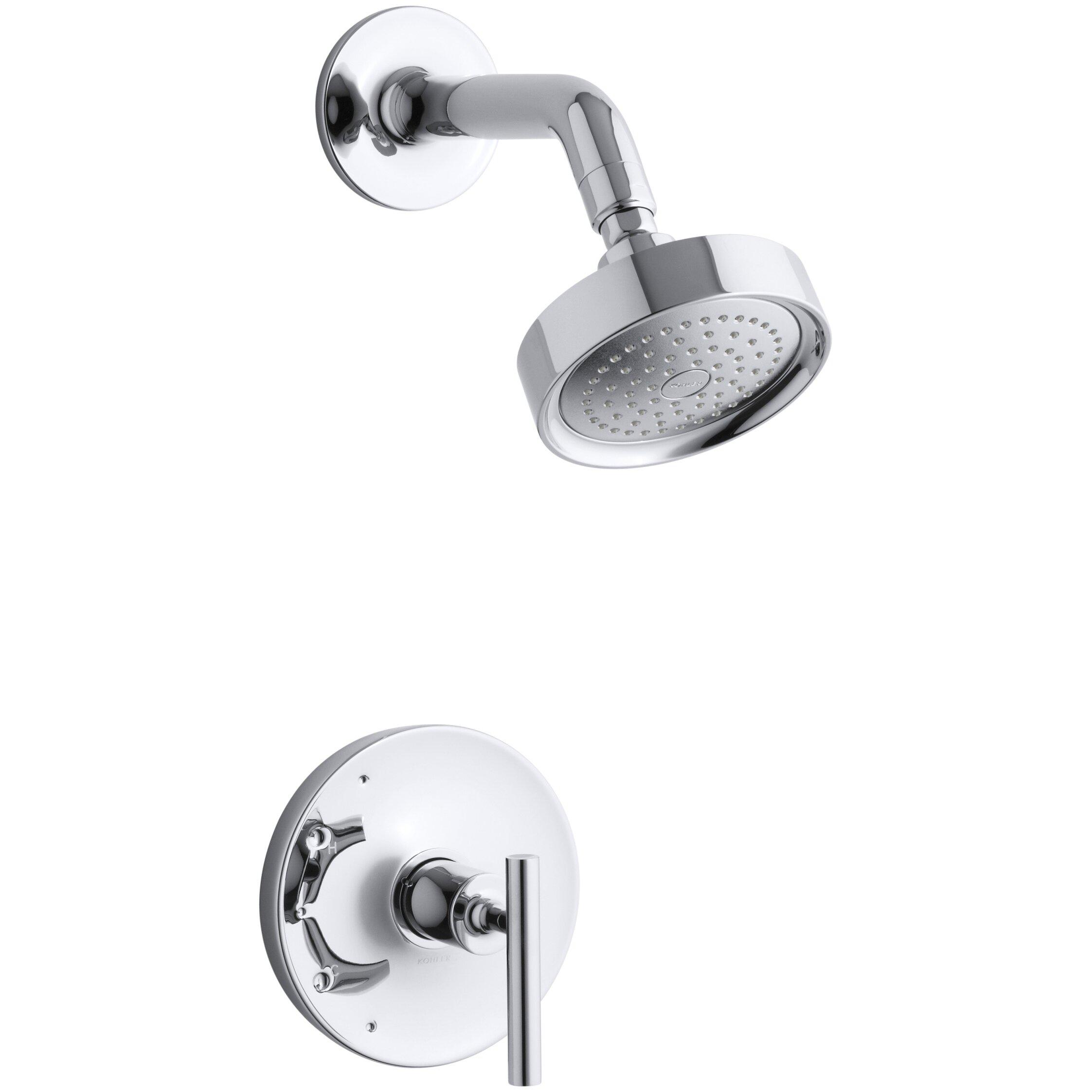 kohler purist rite temp pressure balancing shower faucet trim kohler purist rite temp pressure balancing shower faucet trim lever handle valve