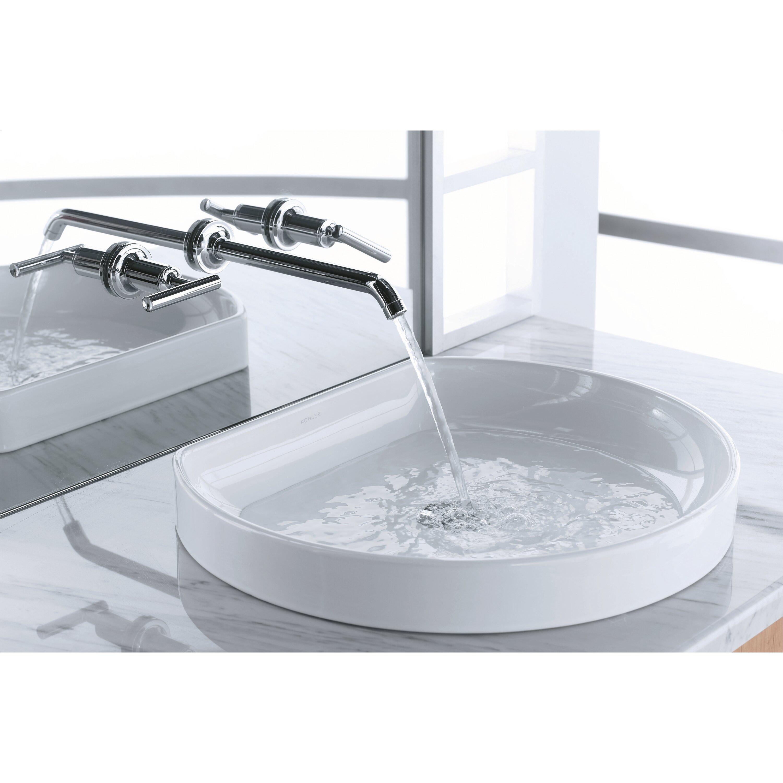 Kohler Watercove Wading Pool Drop In Bathroom Sink. Kohler Watercove Wading Pool Drop In Bathroom Sink   Reviews   Wayfair
