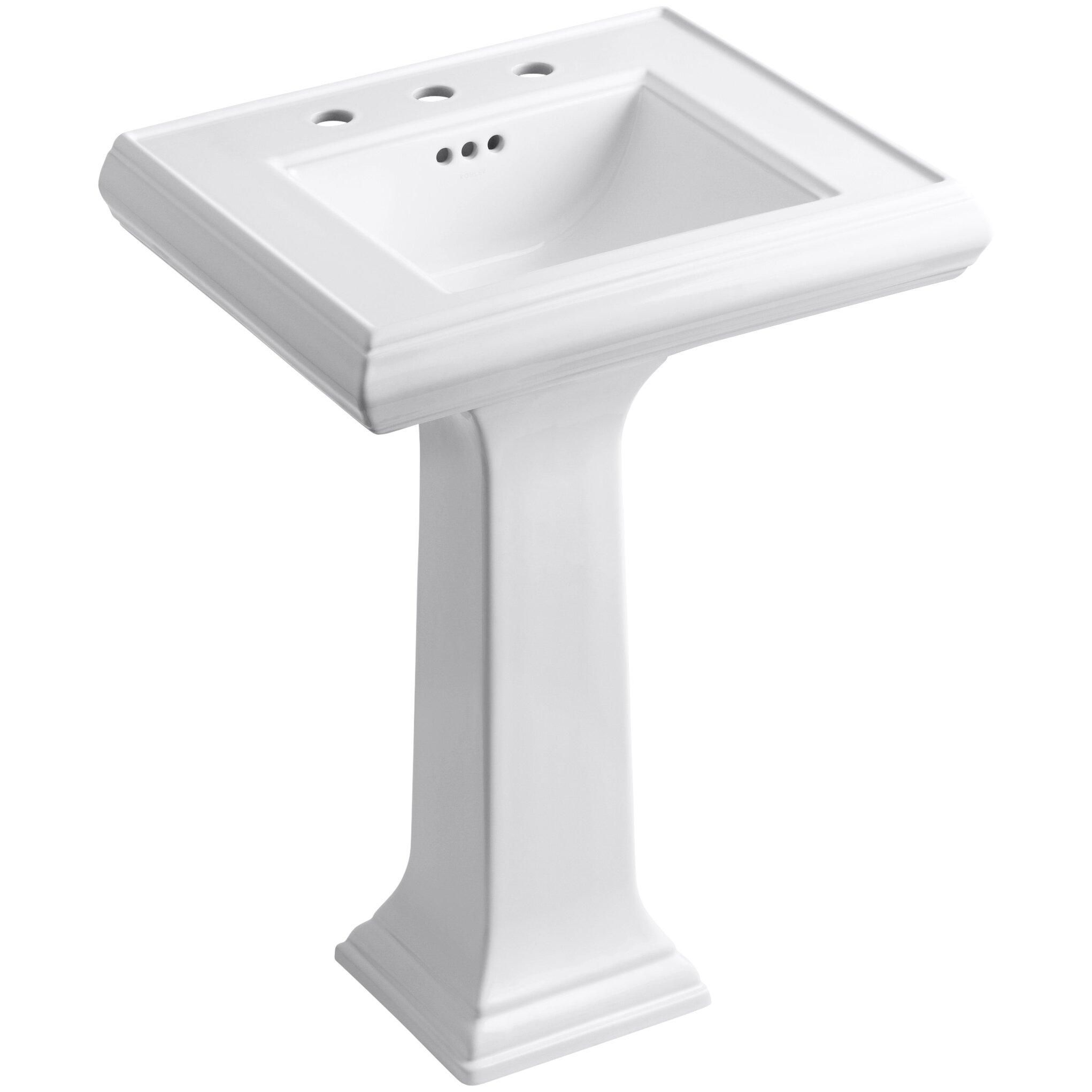 Gallery Of Kohler Memoirs Pedestal Sink 24