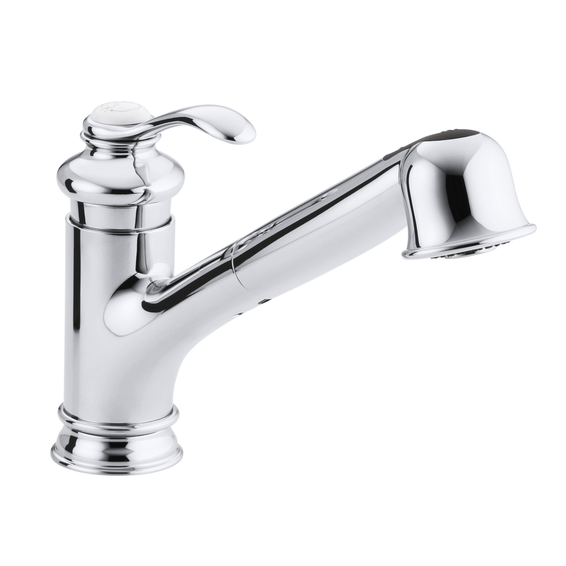 design 15001500 single hole kitchen faucet withrow singlehole kohler fairfax singlehole or threehole kitchen sink faucet with single hole kitchen faucet